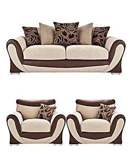 Sasha 3 Seater plus 2 Chairs
