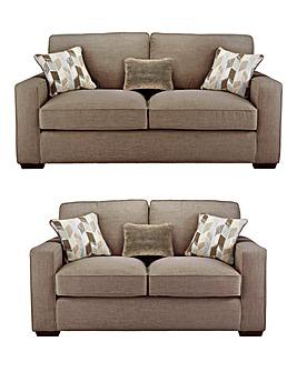 Linoso 3 Seater plus 2 Seater Sofa