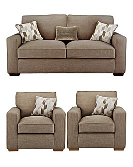 Linoso 3 Seater Sofa plus 2 Chairs