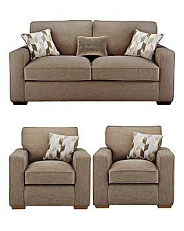 Linoso 3 Seater Sofa plus 2 Chairs