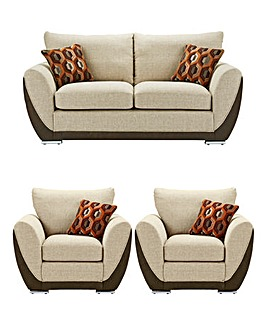 Harper 3 Seater Sofa plus 2 Chairs