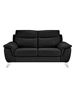 San Remo Leather 2 Seater Sofa