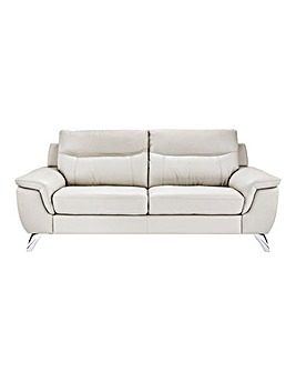 San Remo Leather 3 Seater Sofa