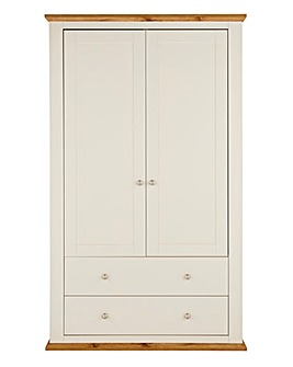 Derwent 2 Door 2 Drawer Wardrobe