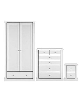 Tiverton 3 Piece Bedroom Package