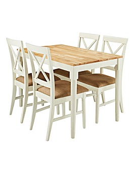 Knutsford Dining Table with 4 Chairs