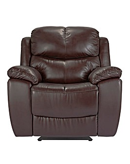 Carlton Leather Recliner Chair