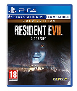 Resident Evil 7 Gold PS4 VR Compatible