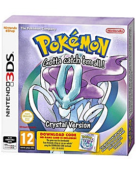 Pokemon Crystal Code In A Box 3DS