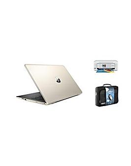 """HP 17"""" Intel  4GB 500GB Win10 Print Set"""