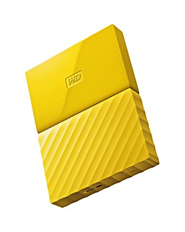 My Passport 3TB Portable Yellow