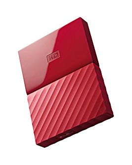 My Passport 3TB USB3.0 Portable Red