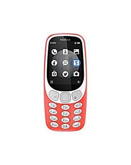 Nokia 3310� 3GWarm Red