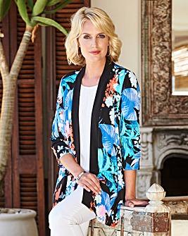 Jersey Kimono Jacket