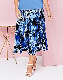 """Print Jersey Skirt 32"""""""