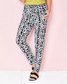 Soft Printed Trouser