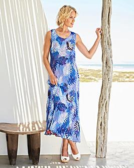 Reversible Crinkle Sun Dress