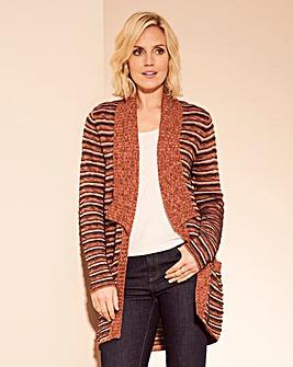Stripe Longline Cardigan