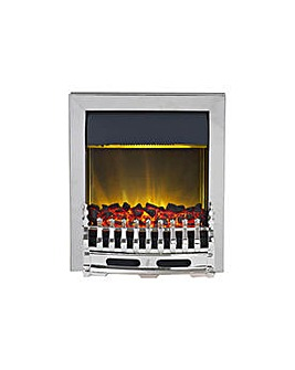 Blenheim 2kW Electric Inset Fire -Chrome
