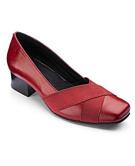Heavenly Soles Court Shoes EEEE Fit