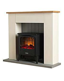 Dimplex Complete Compact Stove and Suite
