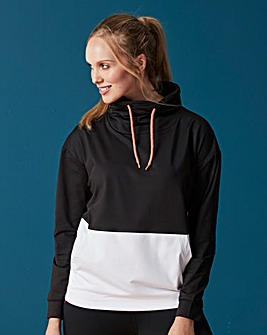 Sports Colour Block Hoodie