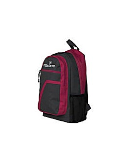 Carbrini Backpack - Grey and Pink.