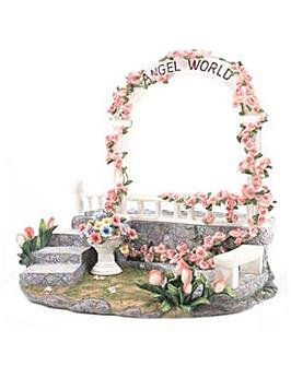Angel Garden Tiered Display Stand