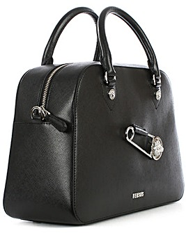 Versus Versace Leather Bowling Bag