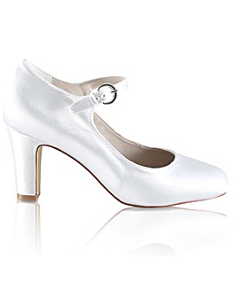 Perfect Milly Dyeable Satin Bar Shoe