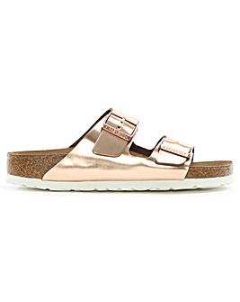 Birkenstock Arizona Metallic Mule