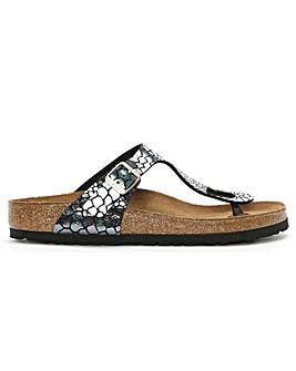 Birkenstock Gizeh Metallic Post Sandal