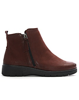 Daniel Rainford Double Zip Ankle Boots