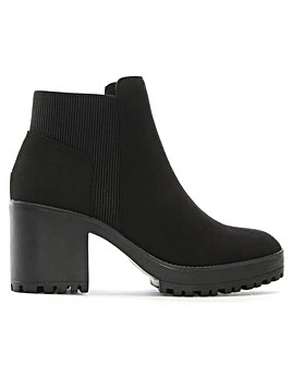 DF By Daniel Cotting Platform Ankle Boot