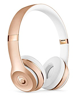 Beats Solo 3 Headphones Gold