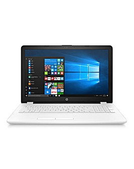 HP 15.6in Intel Core i3 8Gb Laptop White