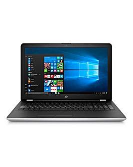 HP 15.6in Intel i7 8Gb Laptop Silver