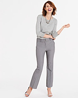 Tailored Bootcut Trousers Short