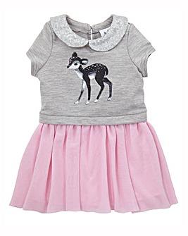 KD Mini Deer Print Dress
