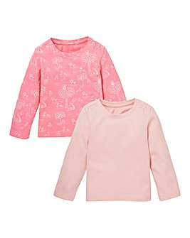 KD Baby Girl Pack of Two Folklo T-Shirts