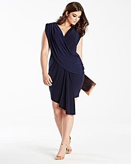 Simply Be by Night Layered Wrap Dress
