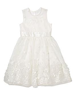 KD Girls Ivory Occassion Dress