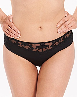 2 Pack Emily Black/White Briefs
