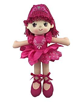 30cm Vicki Rag Doll Ballerina