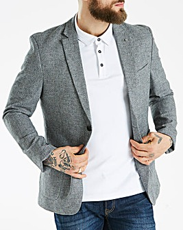 J By Jasper Conran Cotton Linen Blazer