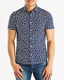 J By Jasper Conran Pool Print Shirt