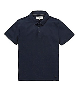 J By Jasper Conran Navy Supima Polo