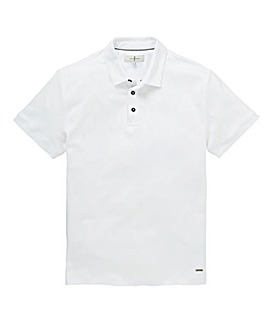 J By Jasper Conran White Supima Polo