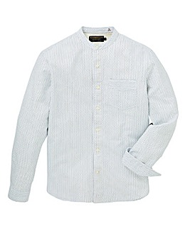 Hammond & Co Dobby Grandad Shirt