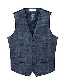 Hammond & Co Blue POW Linen Waistcoat